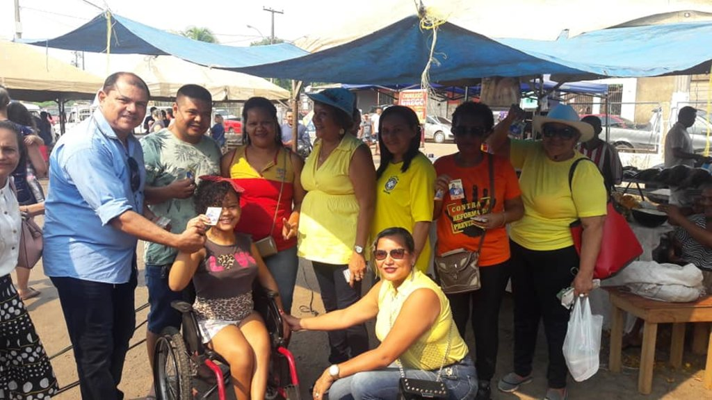 Pedro Nazareno do PSTU fez caminhada na Zona Leste de Porto Velho  - Gente de Opinião