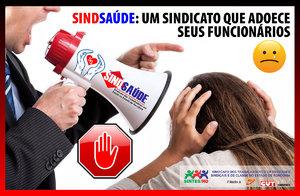 SINDSAÚDE: O Sindicato que adoece seus funcionários - Gente de Opinião
