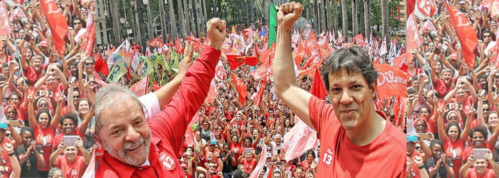 Vox Populi: Haddad já assume liderança com 22% - Gente de Opinião