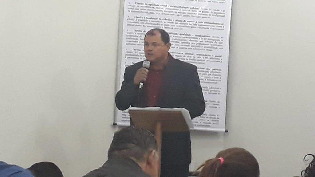Pedro Nazareno do PSTU participa de audiência pública na Casa dos Conselhos do SEAS - Gente de Opinião