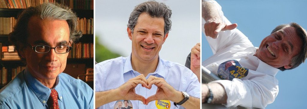 Marcos Coimbra: segundo turno Haddad e Bolsonaro está consolidado  - Gente de Opinião