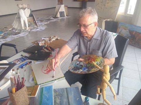 João Zoghbi  Arte 10 – Há 50 anos fazendo artes visuais com amor - Por Zekatraca