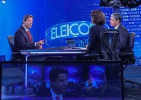 Ex-jornalista do Globo e diretor da ABI sente vergonha de entrevista com Haddad no JN