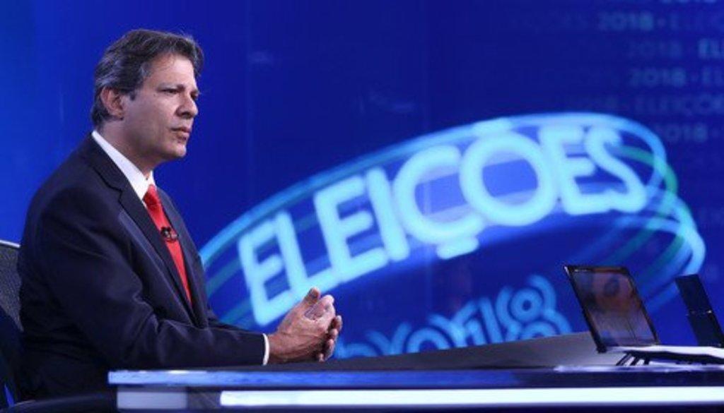 Haddad na Globo: quando a entrevista se torna tortura psicológica - Gente de Opinião