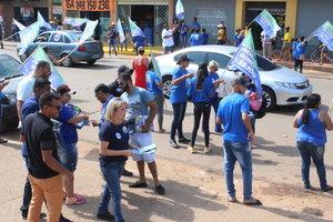 Reconhecimento motiva candidata Ivonete Gomes durante caminhada na zona Sul da Capital - Gente de Opinião