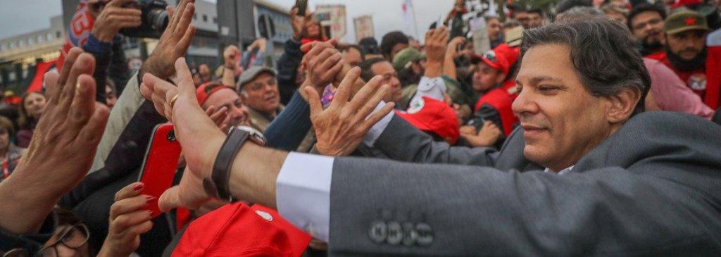 Ibope deve mostrar Haddad com 19%, no segundo turno contra Bolsonaro - Gente de Opinião