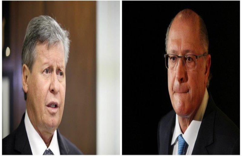 Virgílio diz que Alckmin não é seu candidato e se recusa a recebê-lo em Manaus