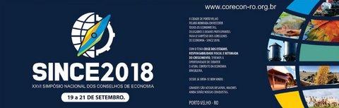 Porto Velho sedia o XXVI Simpósio Nacional dos Conselhos de Economia (SINCE)