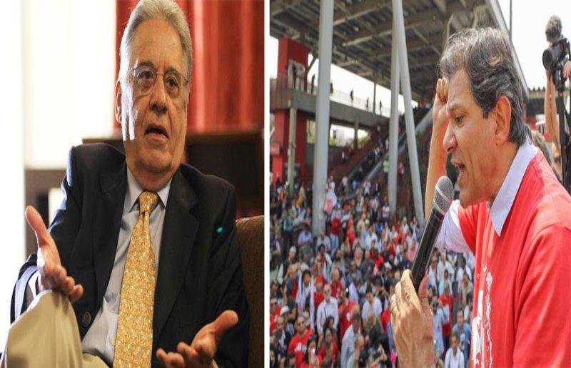 FHC adere ao 'ele não' e sinaliza voto em Haddad no segundo turno