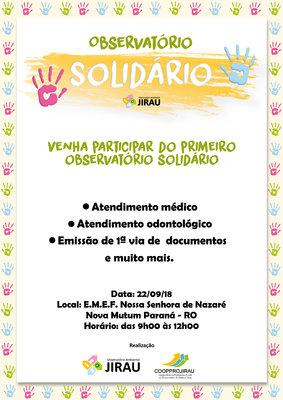 Ações de cidadania movimentam Nova Mutum Paraná