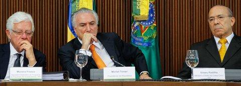 Temer, Moreira e Padilha terão que depor sobre 'organização criminosa'