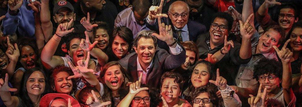 Datafolha coloca Haddad no segundo turno, com 16%, contra Bolsonaro - Gente de Opinião