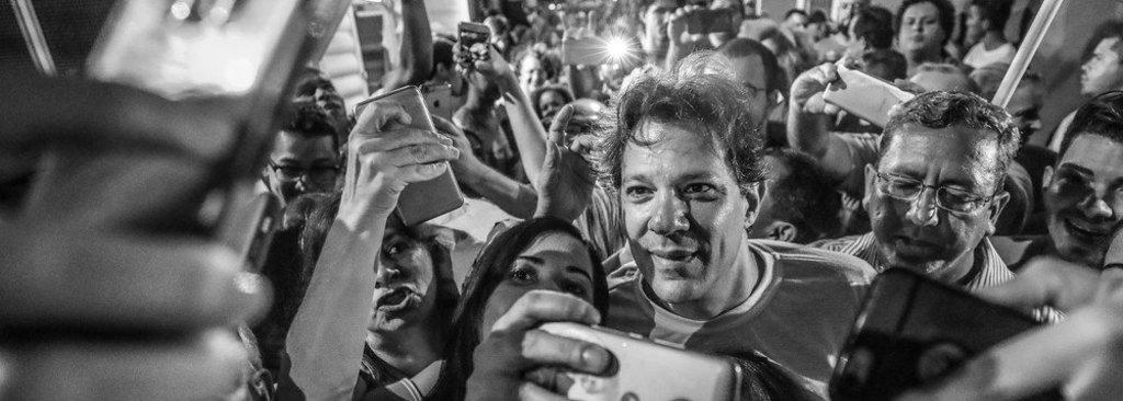 Datafolha: Haddad, que é o candidato de Lula, pode ter 49% dos votos  - Gente de Opinião