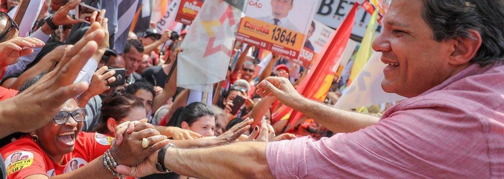 Haddad pula de 2% para 28% em Alagoas, diz Ibope - Gente de Opinião