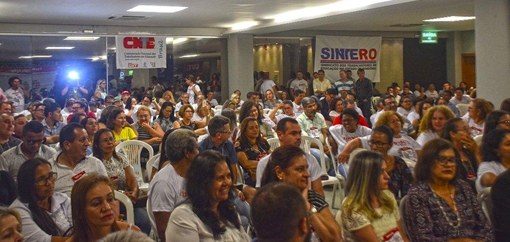 Pimenta de Rondônia é ovacionado em congresso do Sintero - Gente de Opinião