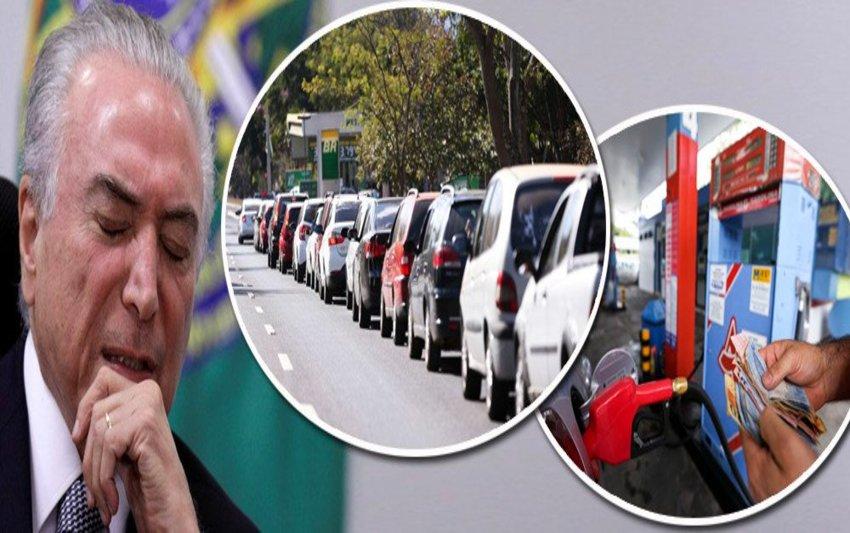 Secretário do Tesouro de Temer: como pobre não usa gasolina, não vamos revisar o imposto