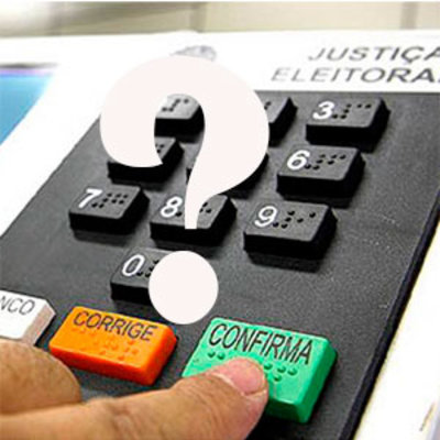 A duas semanas da eleição, você já sabe em quem vai votar...  Por Sérgio Pires