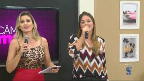 Momento karaoke na SICTV: As cantoras do Câmera + (VÍDEO)