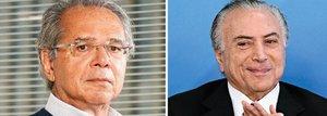 Guedes: Bolsonaro poderia 'negociar' Previdência com Temer - Gente de Opinião