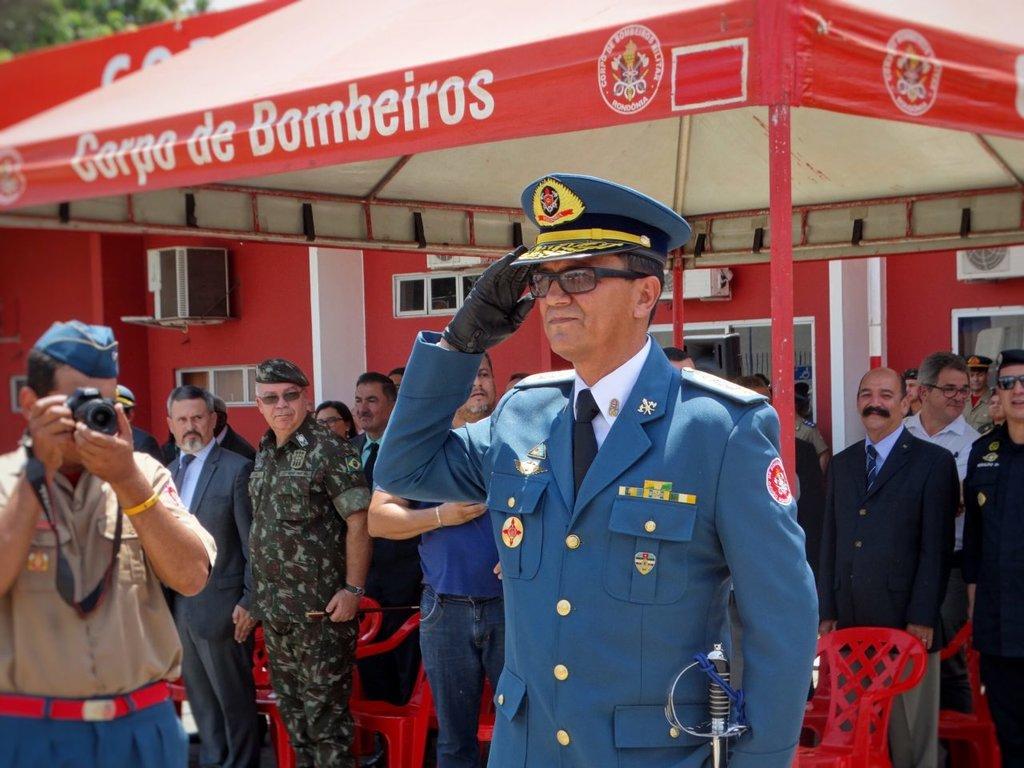 Corpo de Bombeiros Militar de Rondônia recebe novo comandante geral - Gente de Opinião