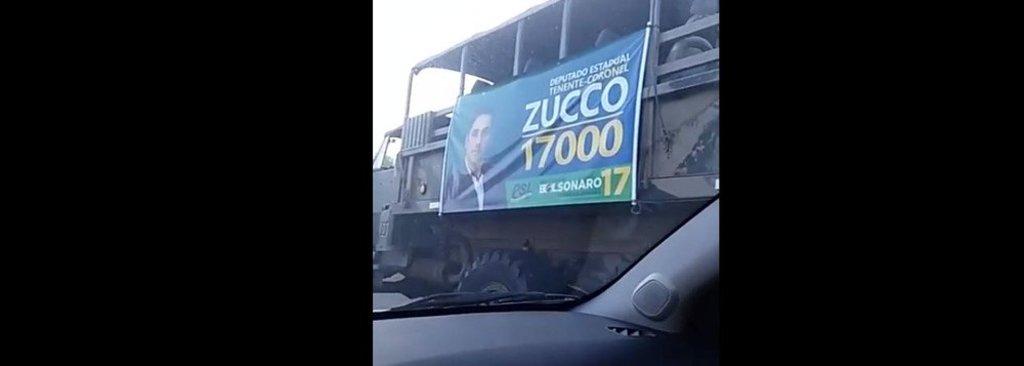 Militar gaúcho usa caminhões do Exército em sua campanha - Gente de Opinião