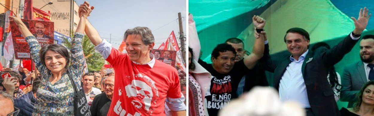 Ibope: Haddad cresce 3 pontos e vai a 22%; Bolsonaro estaciona