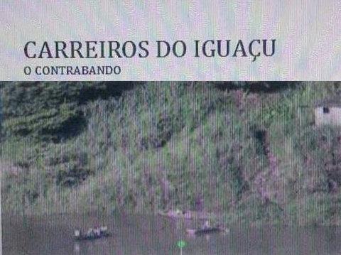 Livro mostra contrabando no Lago de Itaipu