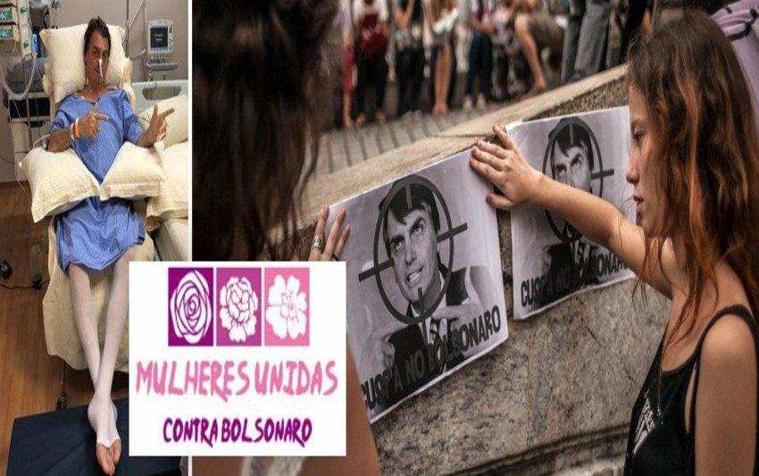 Campanha #EleNão se espalha pela indústria cultural no exterior como #NotHim