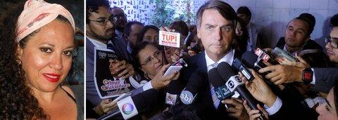 Organizadora do grupo de mulheres contra Bolsonaro é agredida