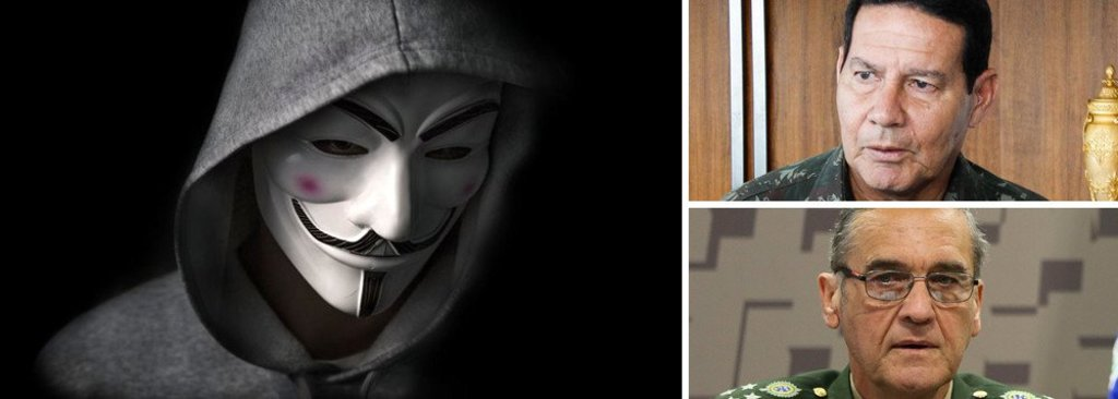 Hackers atacam Ministério da Defesa e divulgam dados de Mourão e Villas Bôas - Gente de Opinião