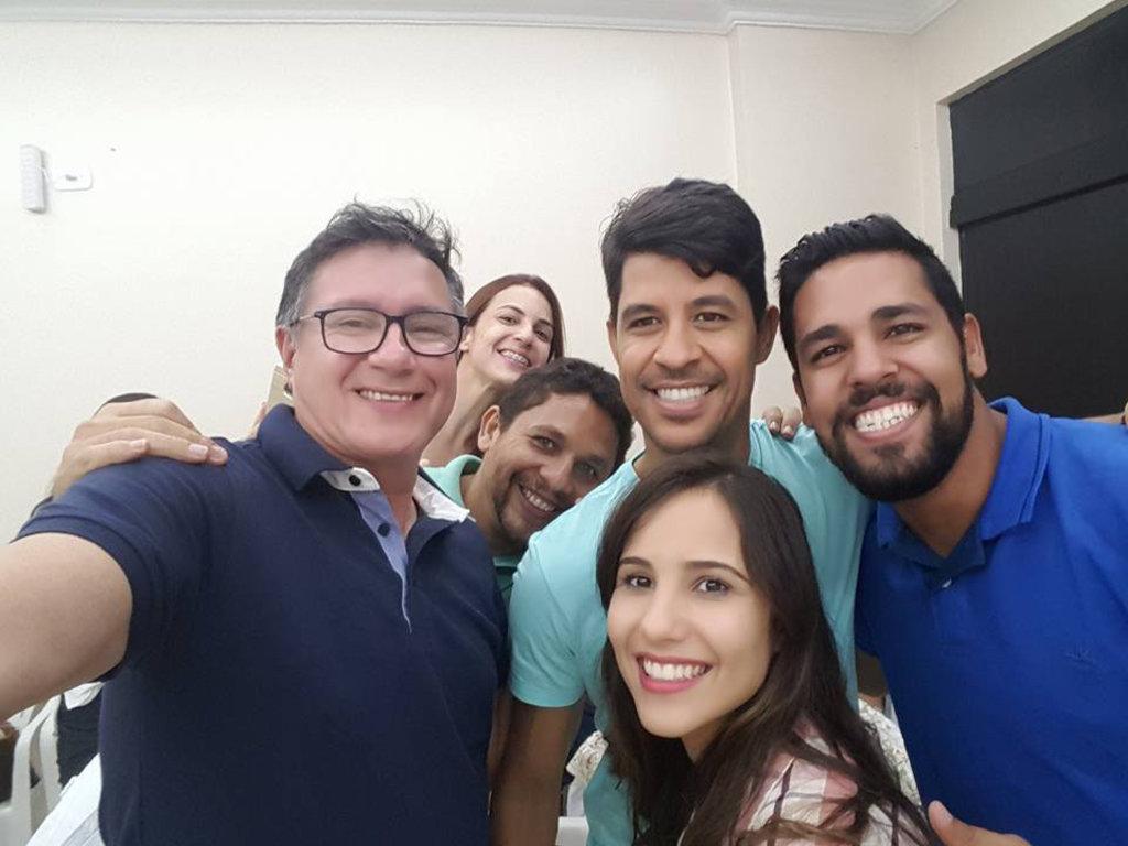 Carlinhos Braga leva mensagem aos colegas policiais do interior do Estado e reforça sua candidatura. - Gente de Opinião