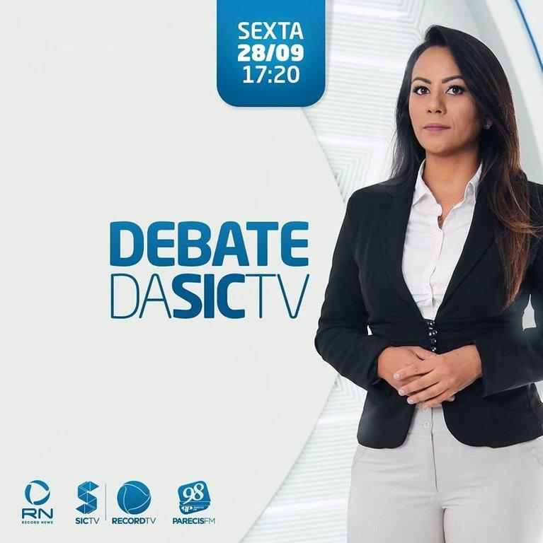 Meyre Santos fala da sua trajetória na SICTV, e diz estar pronta para comandar o Debate da SICTV (VÍDEO) - Gente de Opinião