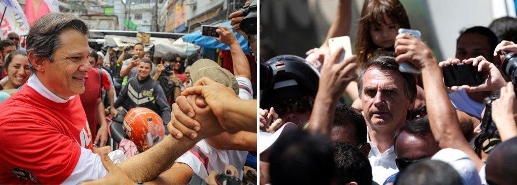 Ibope: Bolsonaro sobe; no segundo turno, ele empata com Haddad - Gente de Opinião