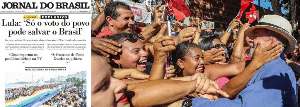 Lula: só voto do salva o Brasil do fascismo - Gente de Opinião