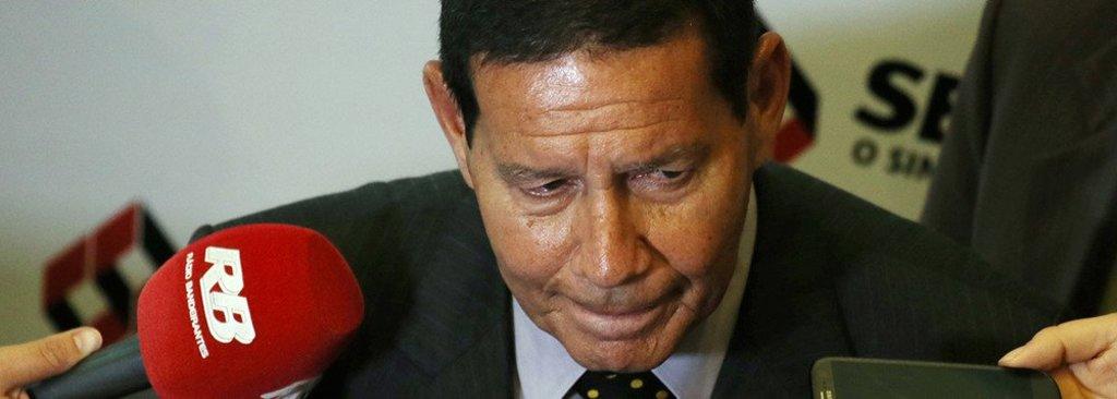 Mourão ignora Bolsonaro e volta a atacar 13º salário  - Gente de Opinião