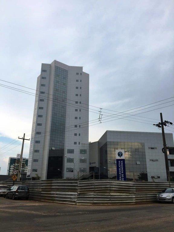 Mesmo sem ter sido inaugurado, o prédio novo da Assembleia Legislativa se destaca na avenida Farquhar (Foto JCarlos) - Gente de Opinião