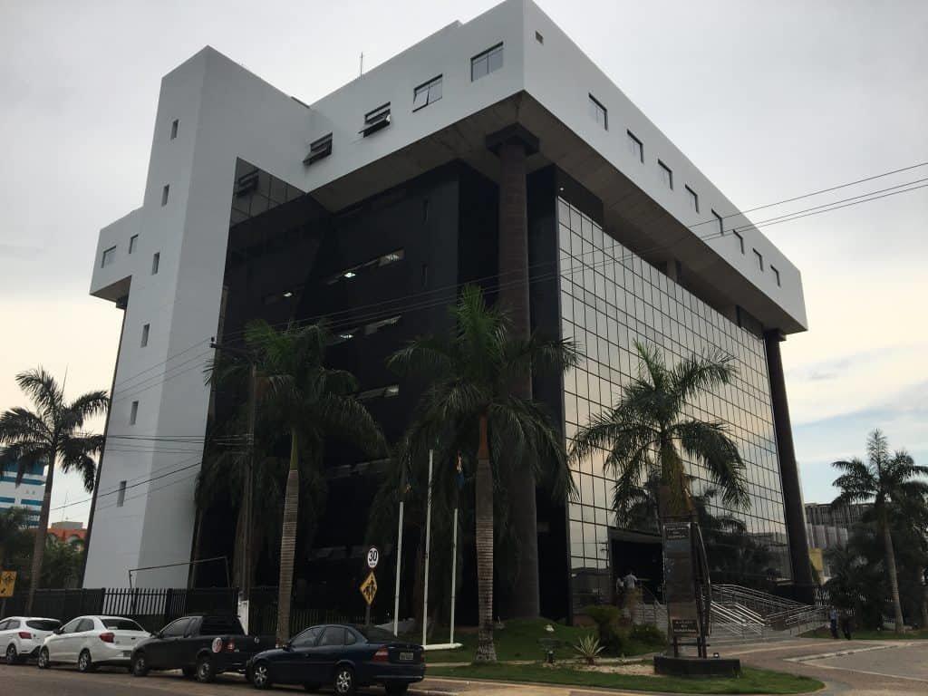 Outro prédio bonito é a sede do Tribunal de Justiça de Rondônia (Foto JCarlos) - Gente de Opinião