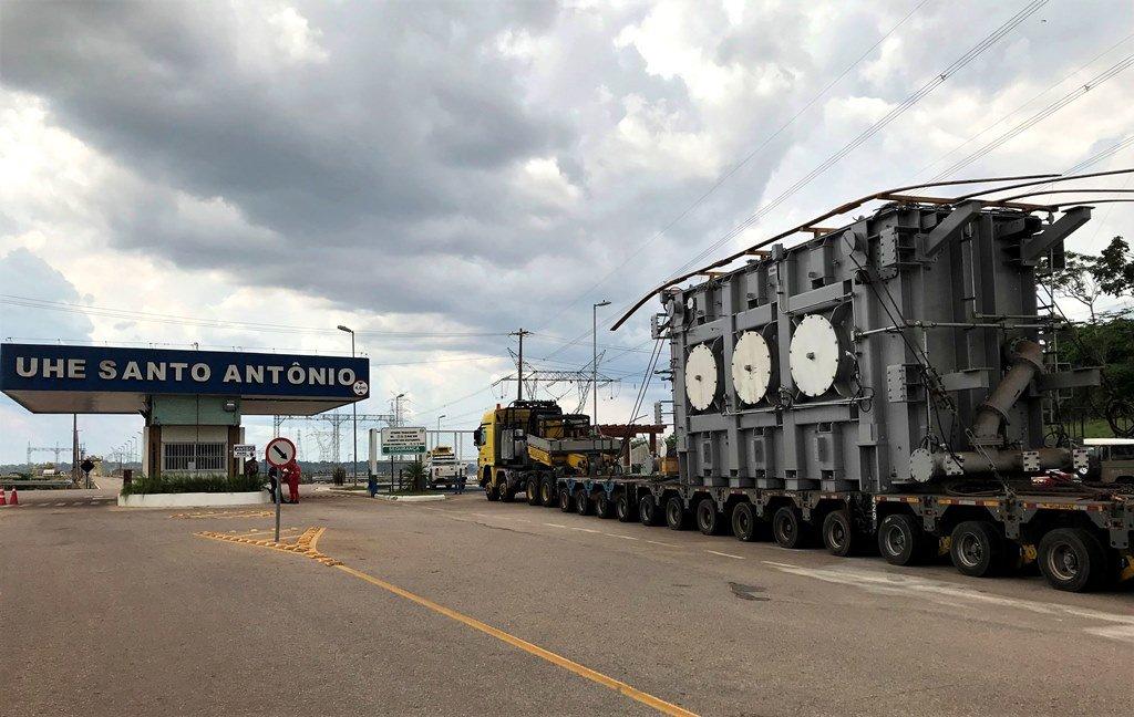 Novos transformadores asseguram o fornecimento de energia pela Hidrelétrica Santo Antônio - Gente de Opinião