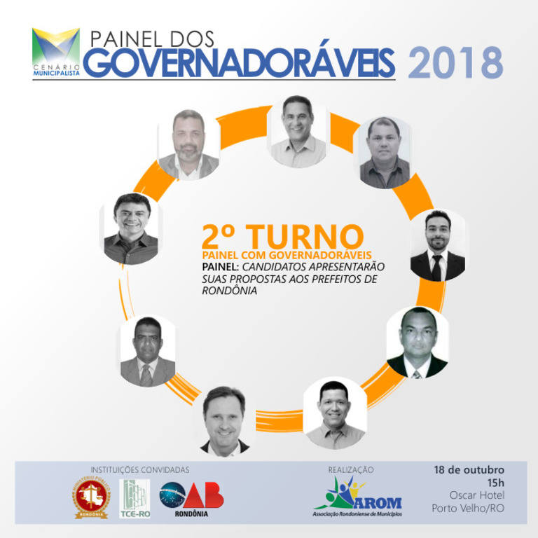 Prefeitos querem ouvir candidatos ao Governo de Rondônia - Gente de Opinião