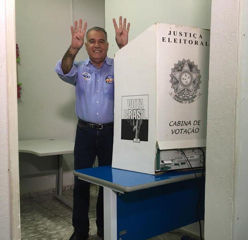 Jesualdo votou em Ji-Paraná e agradeceu apoio da população - Gente de Opinião