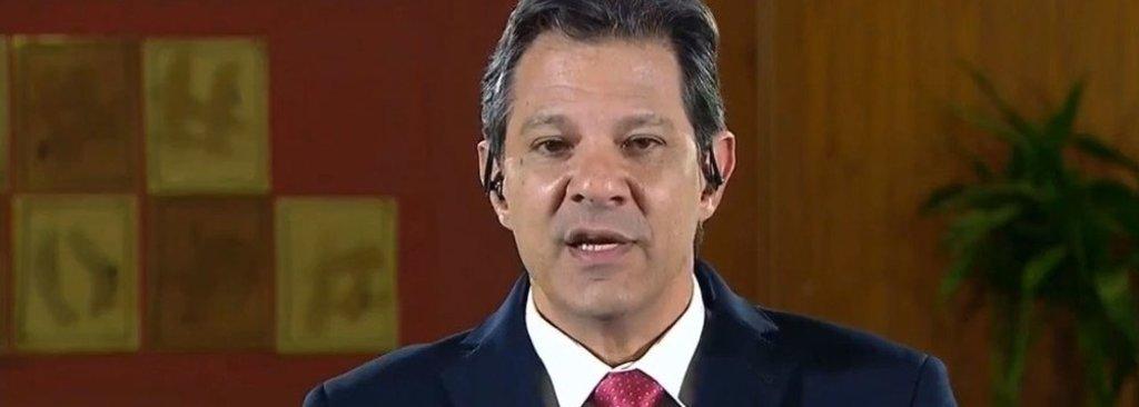 Na Globo, Haddad diz que não vai propor nova constituinte e aprovará reformas por emenda  - Gente de Opinião