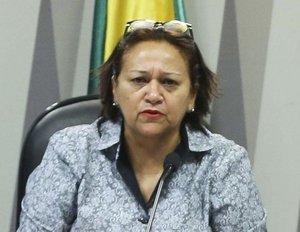 A candidata Fátima Bezerra (PT) ao governo do Rio Grande do Norte - Agencia Brasil/Marcelo Camargo - Gente de Opinião