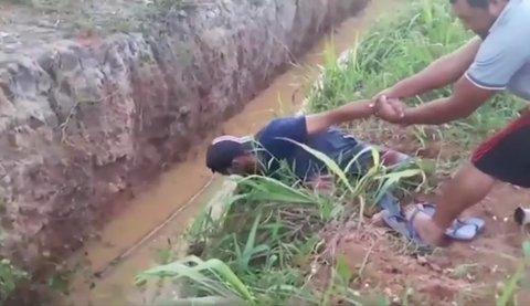 DENÚNCIA: Vala aberta faz vítimas na Zona Leste de Porto Velho (VÍDEO)