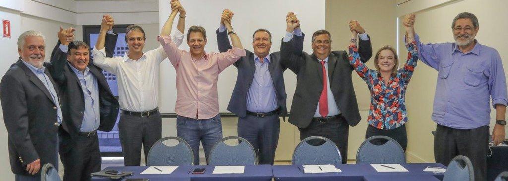 Governadores do Nordeste declaram apoio a Haddad - Gente de Opinião