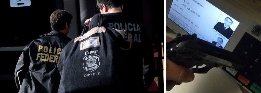 PF faz operação contra eleitor que filmou voto em Bolsonaro com cano de arma - Gente de Opinião