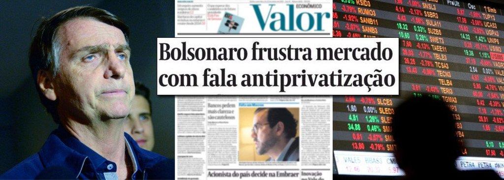 Mercado descobre: Bolsonaro é a grande fake news das eleições - Gente de Opinião