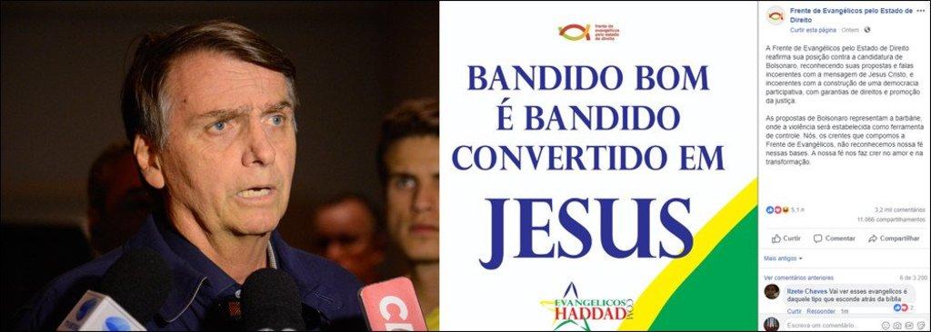 Frente de Evangélicos se levanta contra Bolsonaro - Gente de Opinião