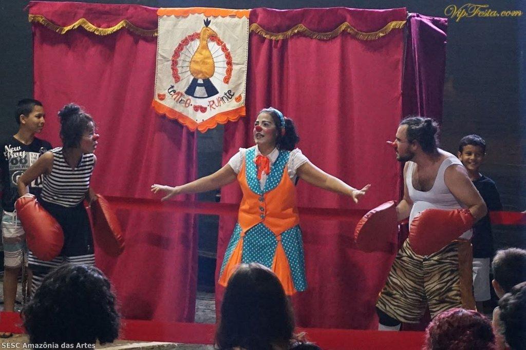 Cabaré Ruante, no Teatro Guaporé, para as crianças - Por Zekatraca - Gente de Opinião