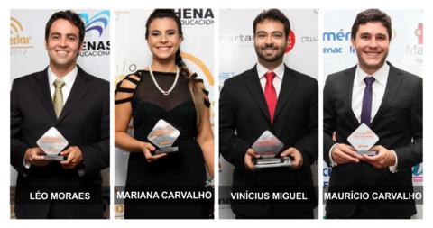 Candidatos nas eleições deste ano receberam o Prêmio Folha Jovem Empreendedor