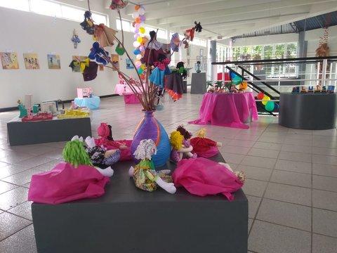 Casa da Cultura apresenta Coletiva, Arte Crianças - Por Zekatraca